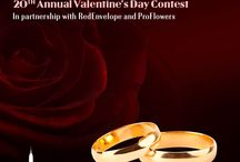 2014 Love Above All Valentine's Day Weddings Contest / by Empire State Building
