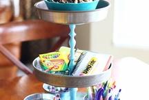 A PLACE OF MY OWN! / Craft room ideas / by Lisa Jones Czarnik
