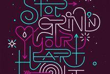 Typography / by Casey Carmell