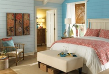 Bedrooms / Bedroom paint color inspiration for your home.  / by BEHR®