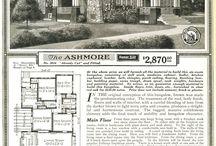 Catalog homes / by Sandra Sheehan