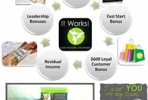 Make $ live healthier with It Works! Global xoxo / by Hilary Eberline