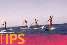 Tips / Stand up paddle tips and advice to help make SUP experiences event better. www.supconnect.com / by supconnect