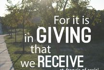 Charity, love, and giving ... / by R.k. Ryals