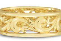 Wedding Rings / Wedding rings from ApplesofGold.com / by ApplesofGold.com