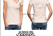 Haut, Top et Tee-shirt femme / Dans cette categorie, vous trouverez une large selection de hauts, tee-shirts, chemise, bustiers, débardeurs...pour tous les goûts ! / by Mode femme