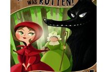 Books - Fractured Fairy Tales / by Mrs. RM  (Rodriguez-Martinez)