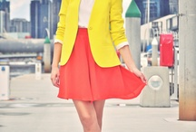 Bright, Brighter, Brightest / Outfits inspired by bright colors and neons / by Amy Hendrix