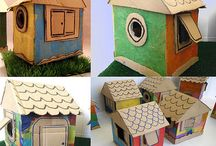 Cardboard Crafts / by Kathy Barbro