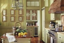 Hot Kitchens & Cool Bathrooms / KITCHEN and BATH ideas and inspirations! / by Edna Dougher