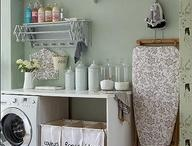 Laundry room / by Elizabeth DeVett