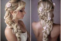 Bride Hairstyle in My Imagination / by Erika Cristina