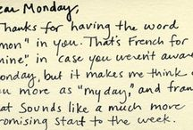 Monday Motivation / by Kristina DeMarais
