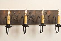 Primitive Lamps & Accessories / by Allyson's Place