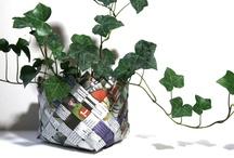 reuse crafts / by Nurtured Mama