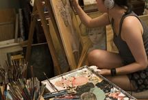 artistes / by Ginette Wheeler