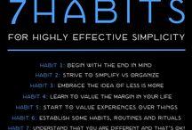 simplify / by Robbie-Heather LaCoste