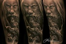The Art of Tattoo / The best tattoos  around  / by Augusto Cordeiro