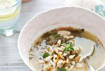 soups / by Ania Szumlińska