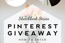 Pinterest Giveaway / by Michelle Barrionuevo-Mazzini
