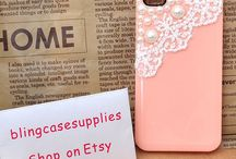 Phone cases/accessories :) / by Katelyn Gilbert