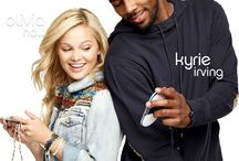 PlayMG Partners: Olivia & Kyrie / Explore the world of Android app gaming with PlayMG's newest partners, Disney star Olivia Holt and NBA All-Star Kyrie Irving / by PlayMG