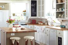 Where we gather / Beautiful Kitchens! / by Amanda Johnston