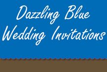 Dazzling Blue Wedding Invitations / Find our range of Dazzling Blue Wedding Invitations in this board.  / by Bride & Groom Direct