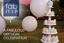Fab It Up: Birthday Party / We'll show you how to turn average into fabulous with just a few suggestions from Marshalls. Here's how to transform your next birthday party into a fabulous celebration. / by Marshalls