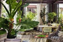 Outdoor patio / by Edward Jennings