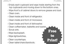 Cleaning - Kitchen Hints & Tips / by Patti Craven