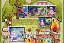 Scrapbook page ideas / by Gracie May Johnson
