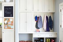 Mudrooms/Laundry / by Chelsea L. Allard (Liddelle Interiors)