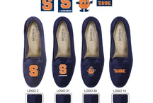 Syracuse Shoes / Syracuse logo shoes for men and women. / by JP Crickets University and Collection Loafers jpcrickets