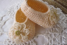 Crochet Baby Booties / by Angela Lewis