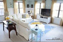 LIVING ROOMS / by A Bowl Full of Lemons