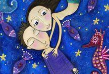 Mermaid-ology / by Lisa Kettell