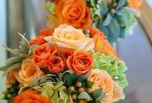 orange wedding / by Emma Bird