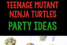 TMNT Party / by Marin O'Brien