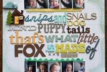 scrapbooking / by Kelly Miller