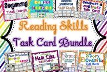 task cards / by Kelly Myers Acevedo