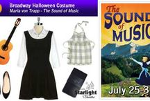 Broadway Halloween Costume Ideas / Halloween is the most theatrical holiday, so it makes perfect sense to dress up like your favorite Broadway character.  / by Starlight Theatre