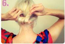 Hairstyles / by Amanda Moreau