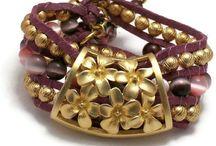 Purple Jewelry / Handmade Jewelry in Purple / by Marla Bee Designs