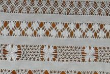 Whitework Embroidery / Everything whitework: pulled thread, drawn thread, Richelieu, broderie anglaise, Mountmellick, needle lace... / by Tammy's Treasures