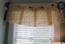 Decor: CURTAINS and other Window Treatments / Curtains, shades, blinds and other window (mis)treatments / by Songbird Blog