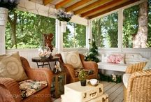 Patios/porches/verandas / by Melly