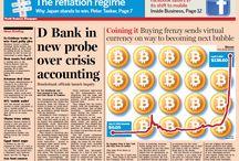 BitCoin / Bitcoins - BTC - digital money of the future. / by Lovely Nylons