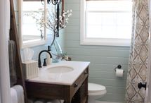 her bathroom ideas  / by Beth Quinn(bethquinndesigns.com)