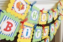 Bubby's First Birthday / by Miss Rockwell